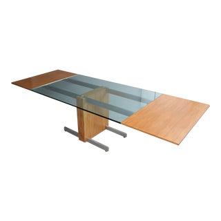 Vladimir Kagan Model 6705 Extension Dining Table For Sale