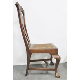 Chippendale Carved Pine Side Chairs - a Pair Preview