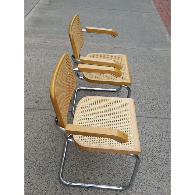 Marcel Breuer Italian Chairs - A Pair - Image 4 of 9