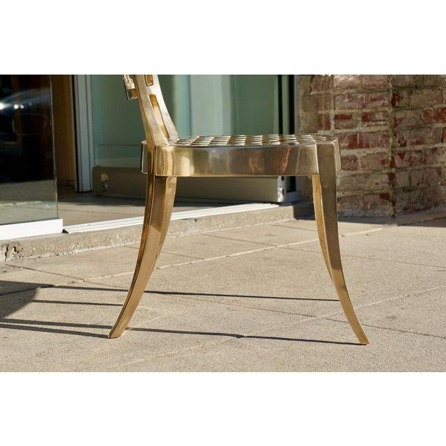 Dana John Cast Bronze Chair For Sale - Image 4 of 7