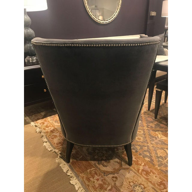 Hickory Chair Samuel Wing Chair - Image 5 of 8