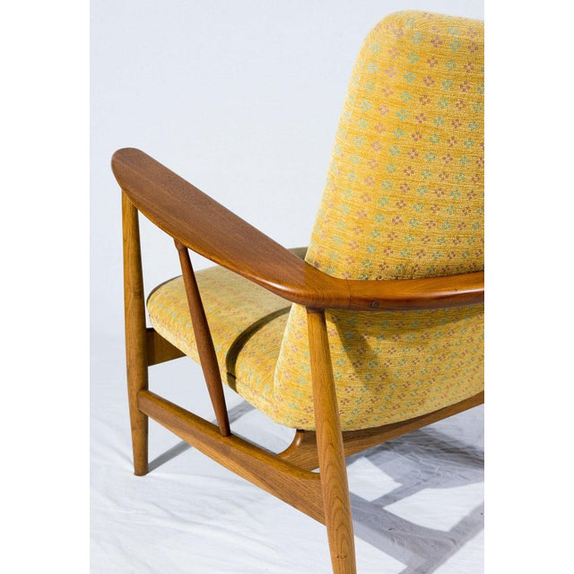Teak Pair of Finn Juhl SW-86 Lounge Chairs For Sale - Image 7 of 10