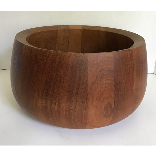The perfect bowl for function as well as looks! It's beautiful! Designed by Jens Quistgaard in the mid-century. A...