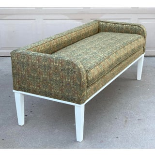 1960's Vintage Upholstered Bench Preview