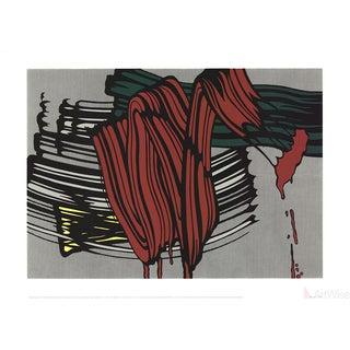 Roy Lichtenstein, Big Painting #6-2000 Serigraph For Sale