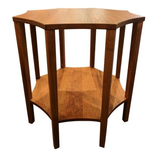 Oversized Wood Accent Table