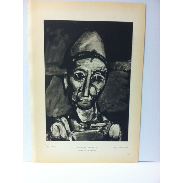 "This is a French painting in the 20th century print from the Hyperion Press dated 1939. The print is titled ""Head of a..."
