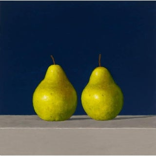 "David Harrison ""Two Pears"" Oil Painting For Sale"