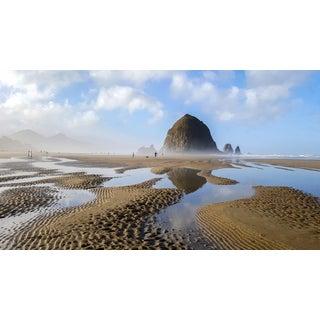 """Surreal Encounters on the Oregon Coast,"" Canon Beach Photograph, Sam Nizam 2015 For Sale"