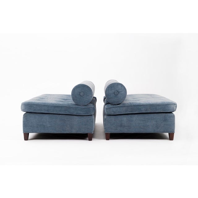 Pair of Bolster-Back Sofas For Sale In New York - Image 6 of 11
