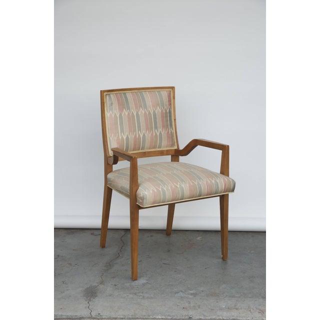 Set of six elegant Mid-Century Modern armchairs and chairs. Two armchairs and four low armchairs. Very comfortable. Great...