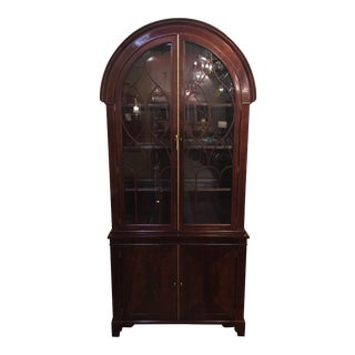Mahogany Display Cabinet by Baker Furniture For Sale