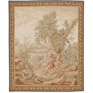 "Aubusson Style Tapestry- 6'10"" x 8'2"""
