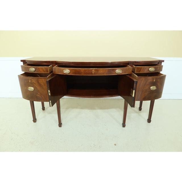 Kindel Furniture Kindel National Trust Collection Federal Mahogany Sideboard For Sale - Image 4 of 13