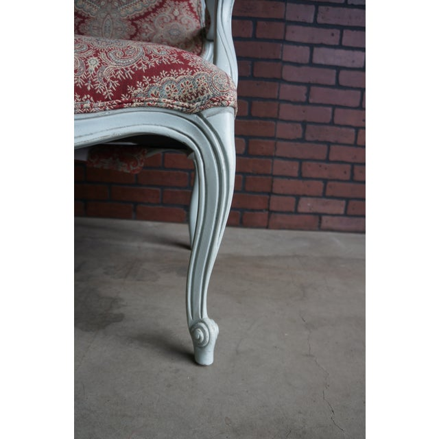 Modern Ethan Allen French Provincial Chantel Accent Chair For Sale - Image 6 of 10