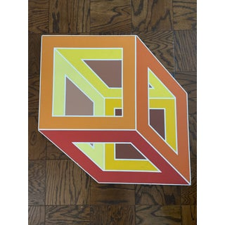 1970s Vintage Geometric Art Paintings- a Pair Preview