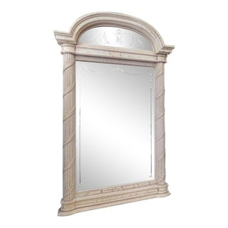 Pulaski Neoclassic Style Wall Mirror With Etched Glass