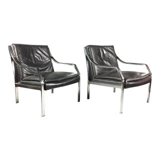 Pair of Preben Fabricius for Walter Knoll Armchairs, Germany, 1970s