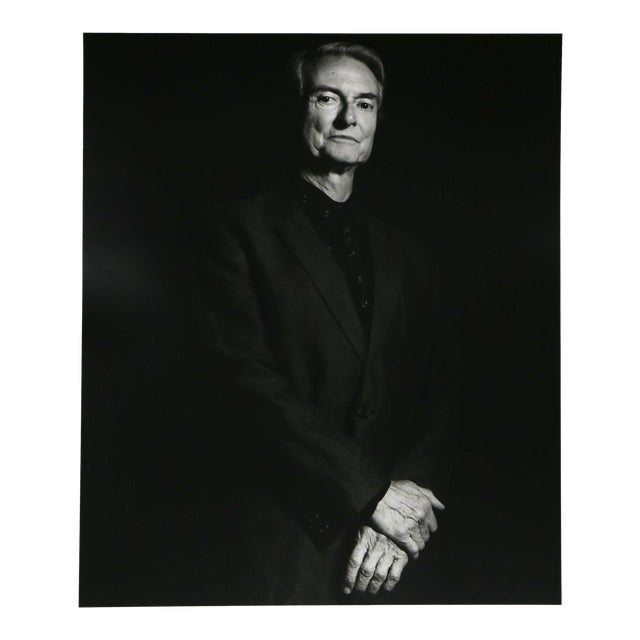 Roy Lichtenstein Photo Portrait by Curtis Knapp For Sale