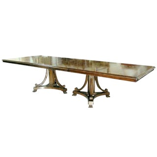 Customizable Classic Savannah Designer Dining Table by Randy Esada Designs For Sale
