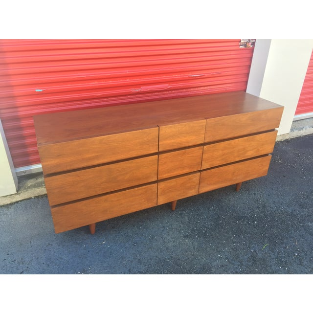 Mid Century Dresser by American of Martinsville - Image 7 of 7