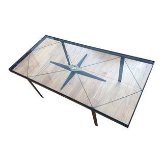 1930 Compass Coffee Table