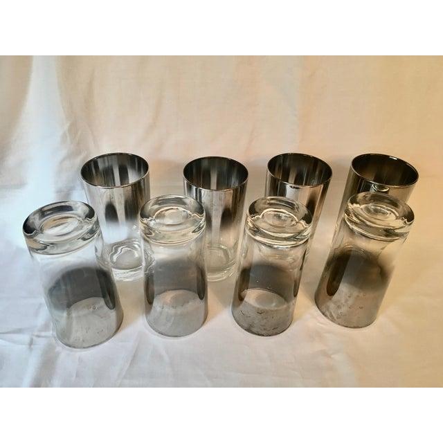 Mid-Century Dorothy Thorpe Style Drinking Glasses - Set of 8 - Image 6 of 9