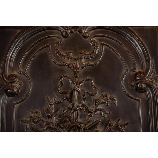 Antique Neoclassical Carved Doors - Set of 4 - Image 9 of 11