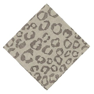 Leopard Pattern Dinner Napkin