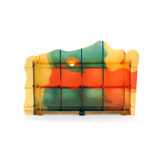 "Resin Gaetano Pesce ""Nobody's Perfect"" Multi-Color Resin Sideboard For Sale - Image 7 of 13"