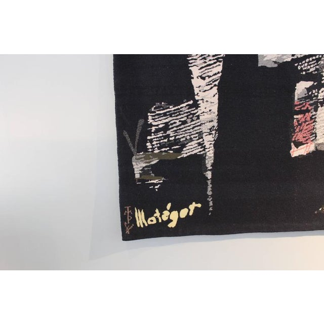 "Large Tapestry by Mathieu Matégot ""Fiction"" For Sale - Image 9 of 10"
