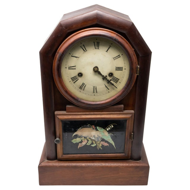 New Haven Clock Co. Mantle Clock For Sale - Image 12 of 12
