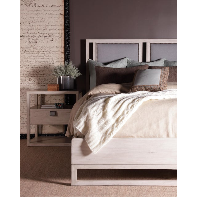Transitional Century Furniture New Haven One Drawer Nightstand, Peninsula For Sale - Image 3 of 4