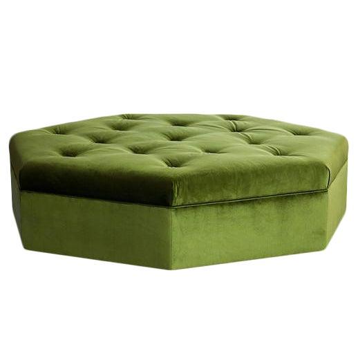 Truex American Furniture Quot Heptagonal Ottoman Quot Chairish