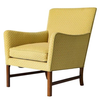Ole Wanscher Rosewood Lounge Chair For Sale
