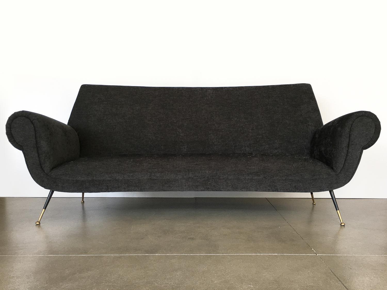 Italian Midcentury Sofa By Gigi Radice For Minotti   Image 2 Of 13