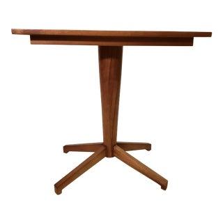 Noir Wood Side Table For Sale