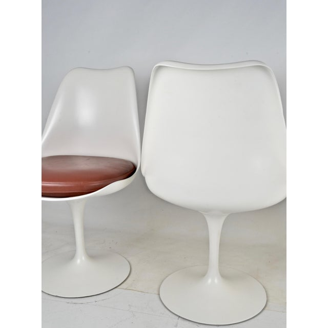 1960s Vintage Saarinen Swivel Chairs - Set of 4 For Sale - Image 5 of 8