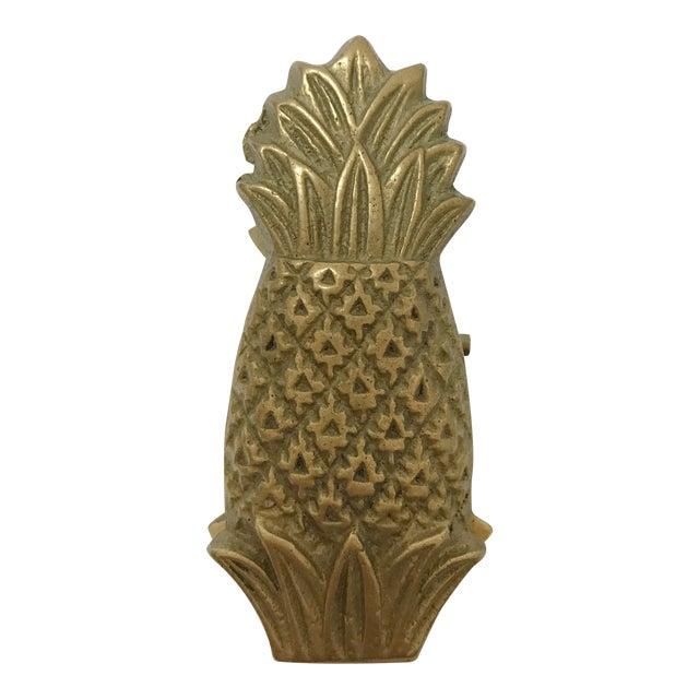 Vintage Brass Pineapple Clip For Sale