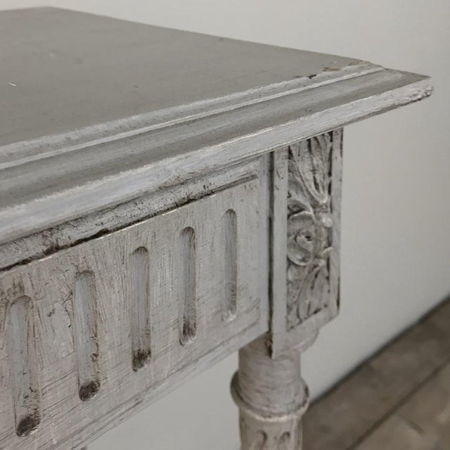 19th Century French Louis XVI Painted Pedestal For Sale - Image 10 of 13