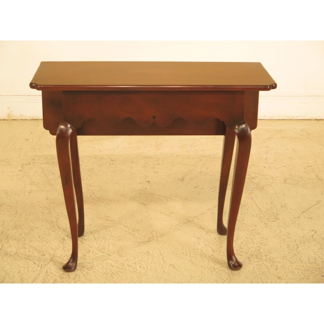 Kittinger Drop Leaf Williamsburg Occasional Table For Sale - Image 10 of 10