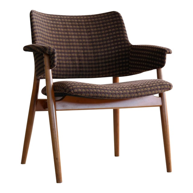 Midcentury Hans Olsen Style Lounge or Accent Chair For Sale