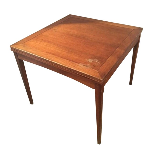 Sligh-Lowry Antique Danish Folding Table - Image 1 of 6