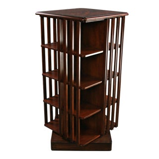 Bookcase English Regency Flame Mahogany Inlaid For Sale