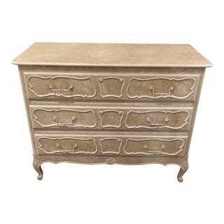 Vintage French Louis XV Style Painted Chest For Sale