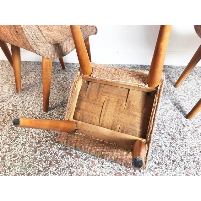 Russel Wright Scoop Dining Chairs - Set of 4 For Sale - Image 12 of 13