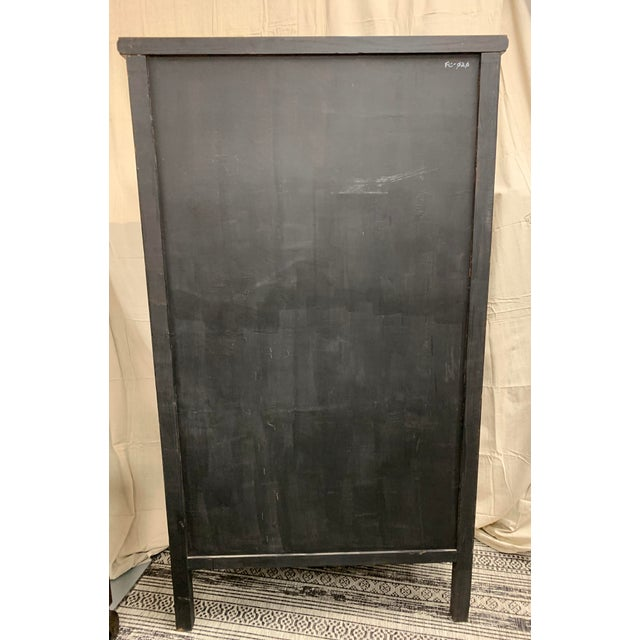 Chestnut Asian Style Wooden Cabinet For Sale - Image 8 of 12