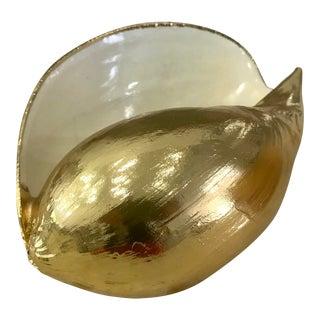1970s Karl Springer Polychrome Seashell For Sale