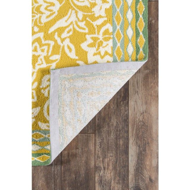 Madcap Cottage Under a Loggia Rokeby Road Yellow Indoor/Outdoor Area Rug 5' X 8' For Sale In Atlanta - Image 6 of 7