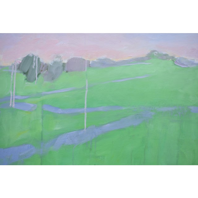 "Stephen Remick ""Spring Rising"" Contemporary Painting For Sale In Providence - Image 6 of 11"